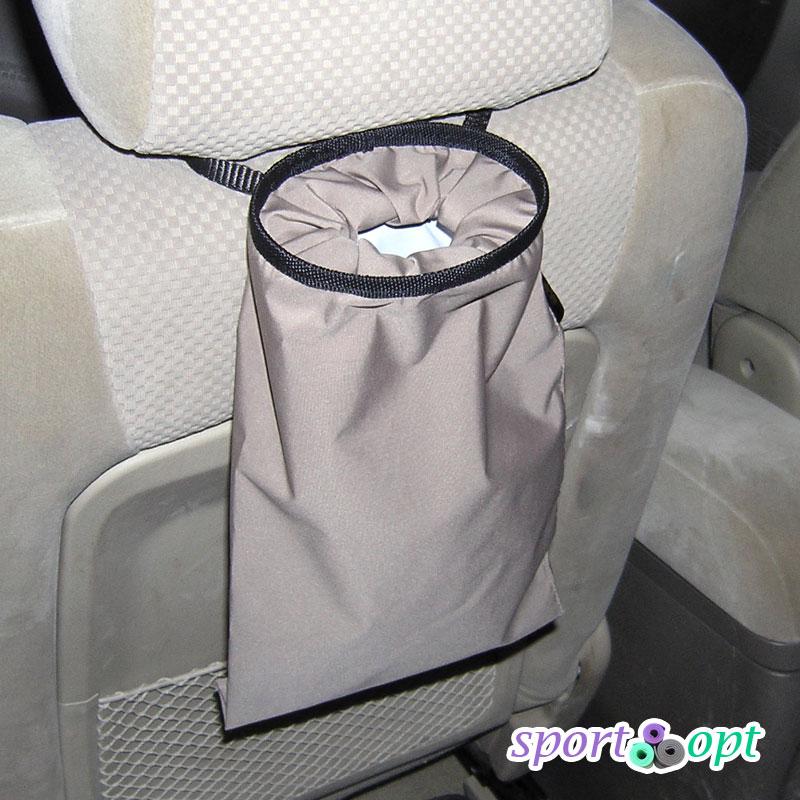 Фото №2: Сумка закреплена на спинке сиденья водителя.