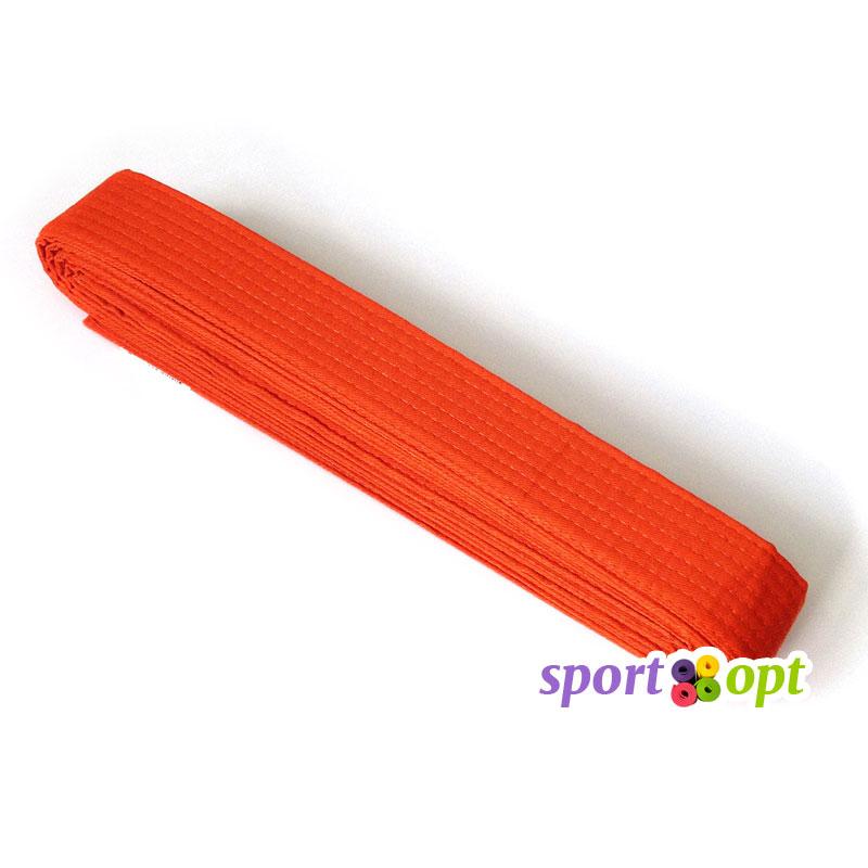 Пояс для кимоно Champion (оранжевый). Фото №1.