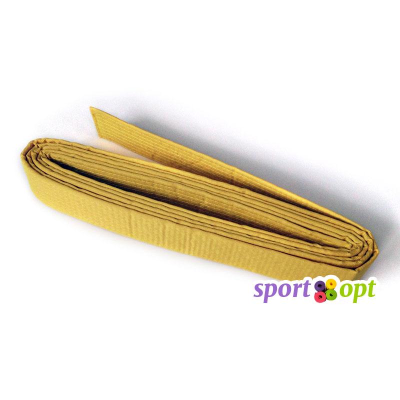 Пояс для кимоно Champion (желтый). Фото №1.