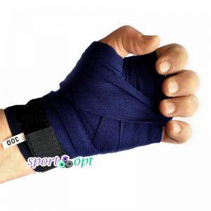 Фото №2: Боксерский бинт Champion (темно-синий).