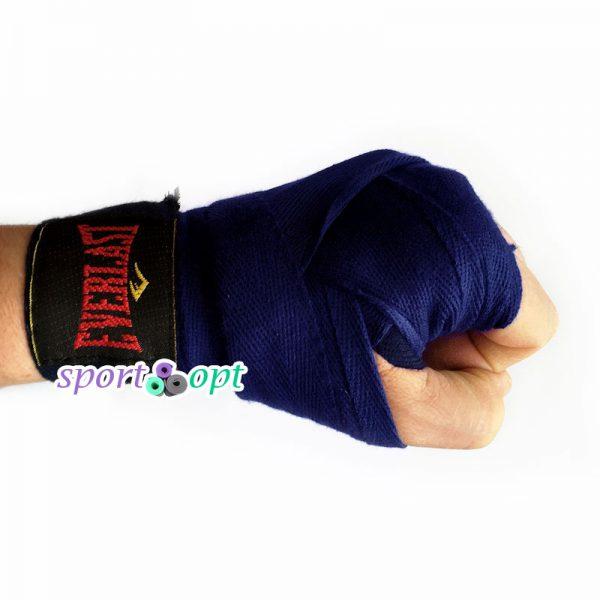 Фото №3: Боксерский бинт Champion (темно-синий).