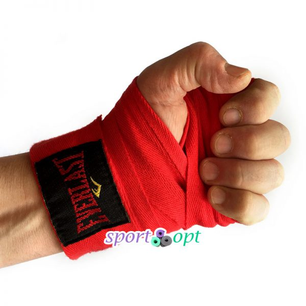 Фото №2: Боксерский бинт Champion (красный).