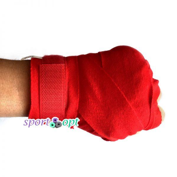 Фото №3: Боксерский бинт Champion (красный).