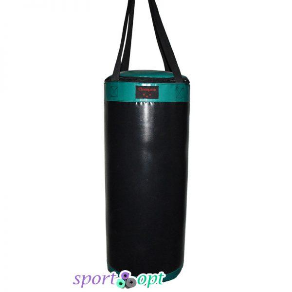 Боксёрский мешок Champion чёрно-зелёный