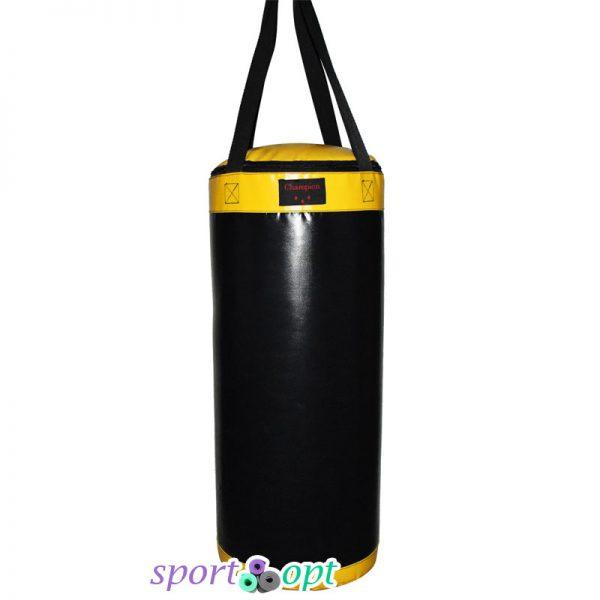 Боксёрский мешок Champion чёрно-жёлтый