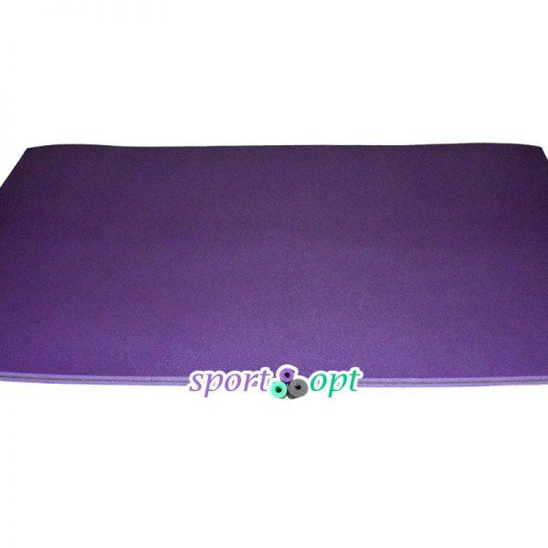 Мат спортивный (20 мм): фиолетовый с серым.