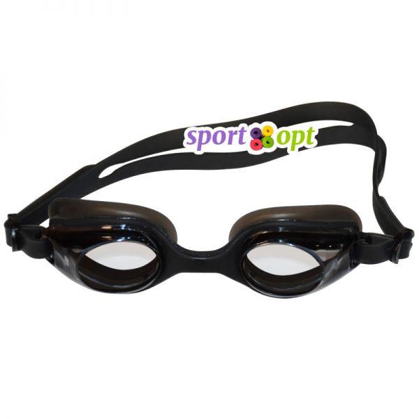 Очки для плавания Selex A1 (чёрные).
