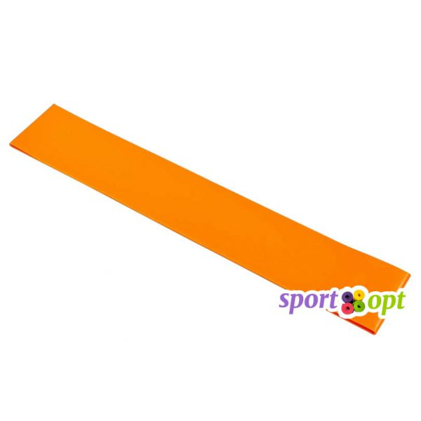 Эспандер ленточный Champion. Оранжевый. Фото №1.