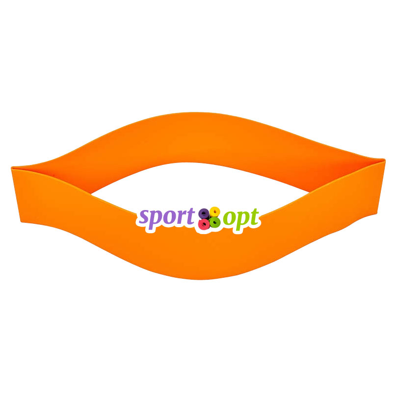 Эспандер ленточный SportOpt. Оранжевый. Фото №2.