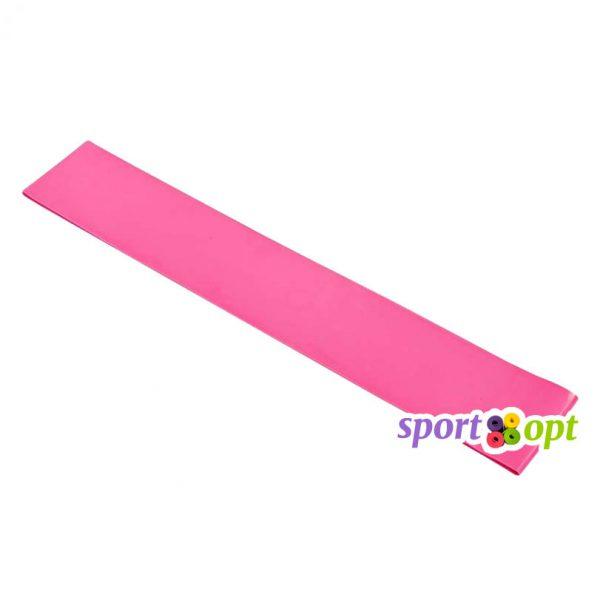 Эспандер ленточный SportOpt. Розовый. Фото №1.