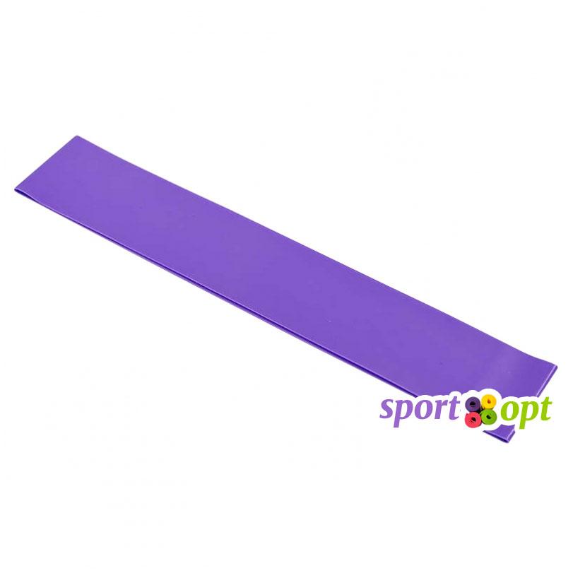 Эспандер ленточный SportOpt. Фиолетовый. Фото №1.