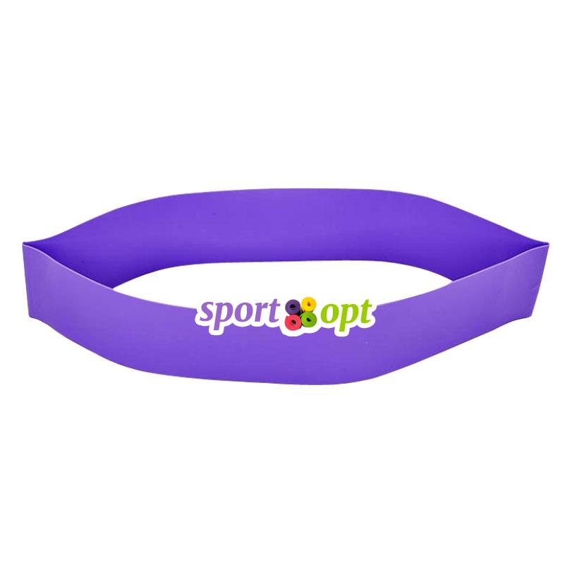Эспандер ленточный SportOpt. Фиолетовый. Фото №2.