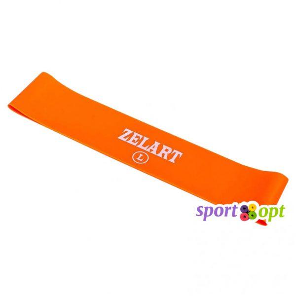 Эспандер ленточный Zelart. Оранжевый. Фото №1.