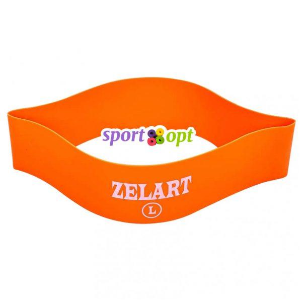 Эспандер ленточный Zelart. Оранжевый. Фото №2.