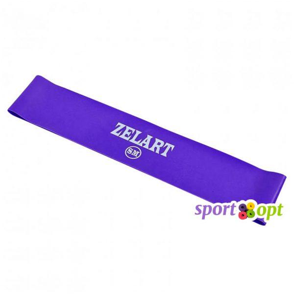 Эспандер ленточный Zelart. Фиолетовый. Фото №1.