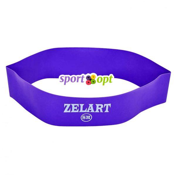 Эспандер ленточный Zelart. Фиолетовый. Фото №2.